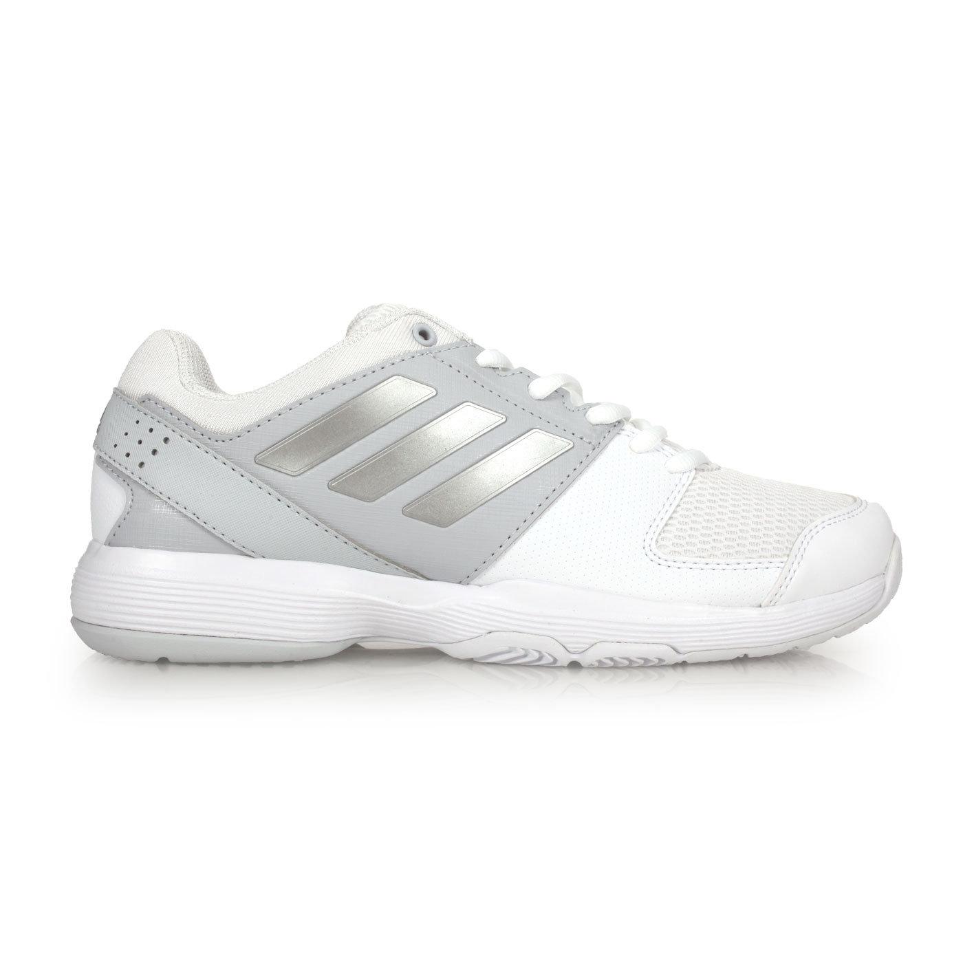 ADIDAS barricade court w 女網球鞋 (免運 愛迪達【02016464】≡排汗專家≡