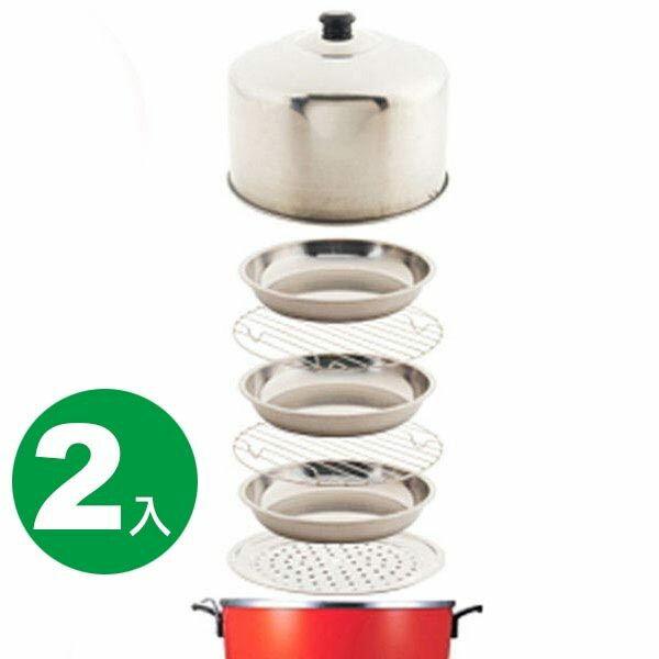 (1111元)《派樂》不鏽鋼組-馬蓋掀蓋好掀 萬用鍋蓋(7件式) x2組 - 限時優惠好康折扣