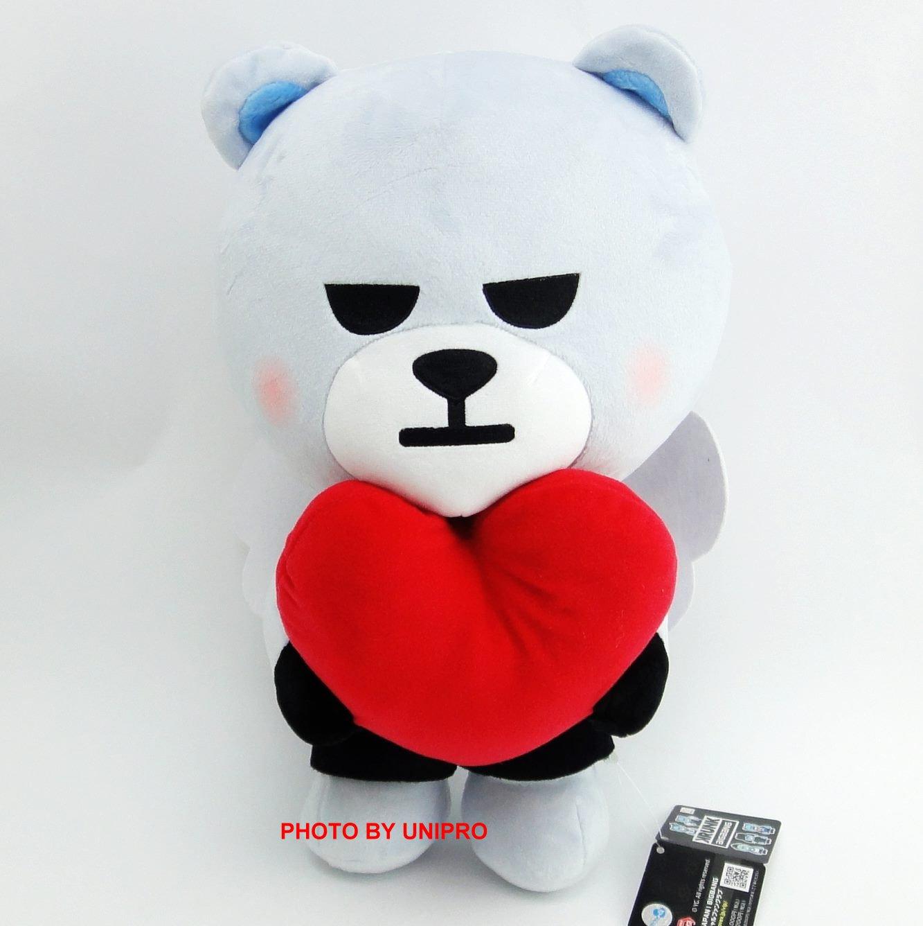 【UNIPRO】KRUNK BIGBANG BIG 單售 D-LITE 絨毛 娃娃 禮物 情人節