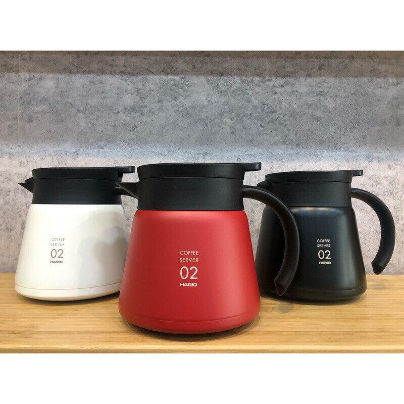Hario VHS-60/80真空保溫壺 咖啡壺 紅白黑三色『93 coffee wholesale』