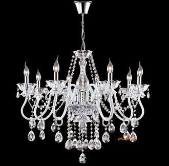 蠟燭水晶吊燈 E14 * 8 /E14 * 6