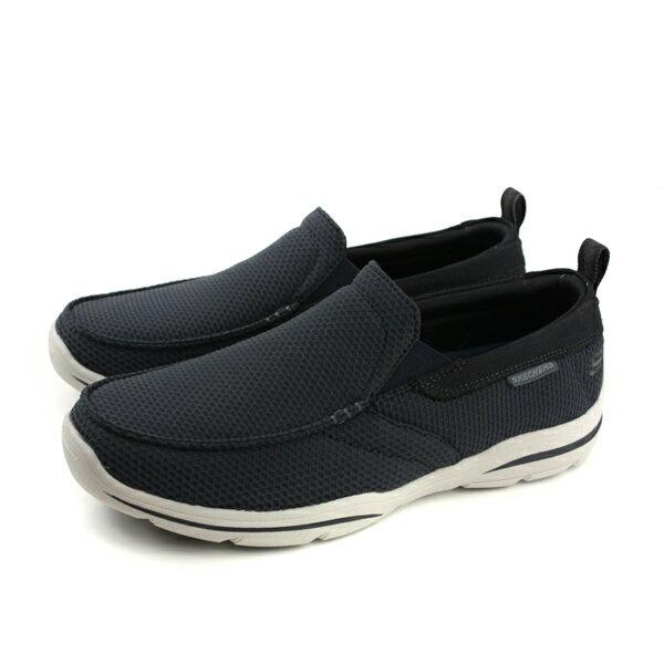SKECHERS運動鞋懶人鞋男鞋深藍色65382DKNVno843