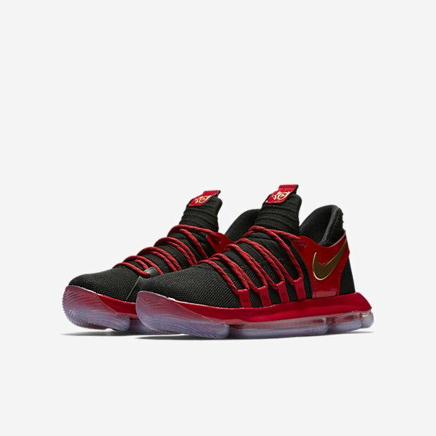[ALPHA] NIKE Zoom KD X GS AJ7220-076 籃球鞋 大童鞋 編織 全氣墊