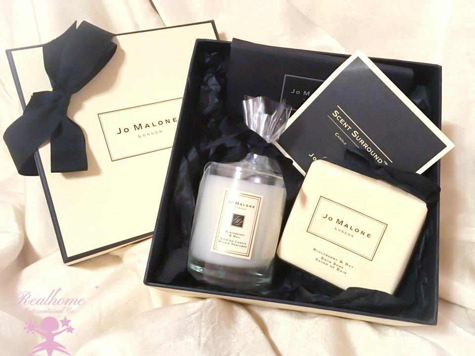 *禎的家*英國 Jo Malone黑莓月桂 蠟燭 & 香皂 優雅推出 送禮美!!