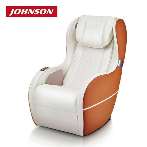 喬山JOHNSON 小匠沙發 / 按摩椅 A282|超長軌道‧腰臀均勻按壓《現代簡約風》