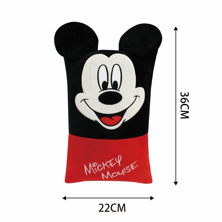 迪士尼正版 米奇方型小抱枕 午安枕 腰枕 沙發枕 靠枕 LAIBAO蕾寶生活廣場22cm*36cm