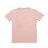 Rocky毛巾繡短T-粉 2
