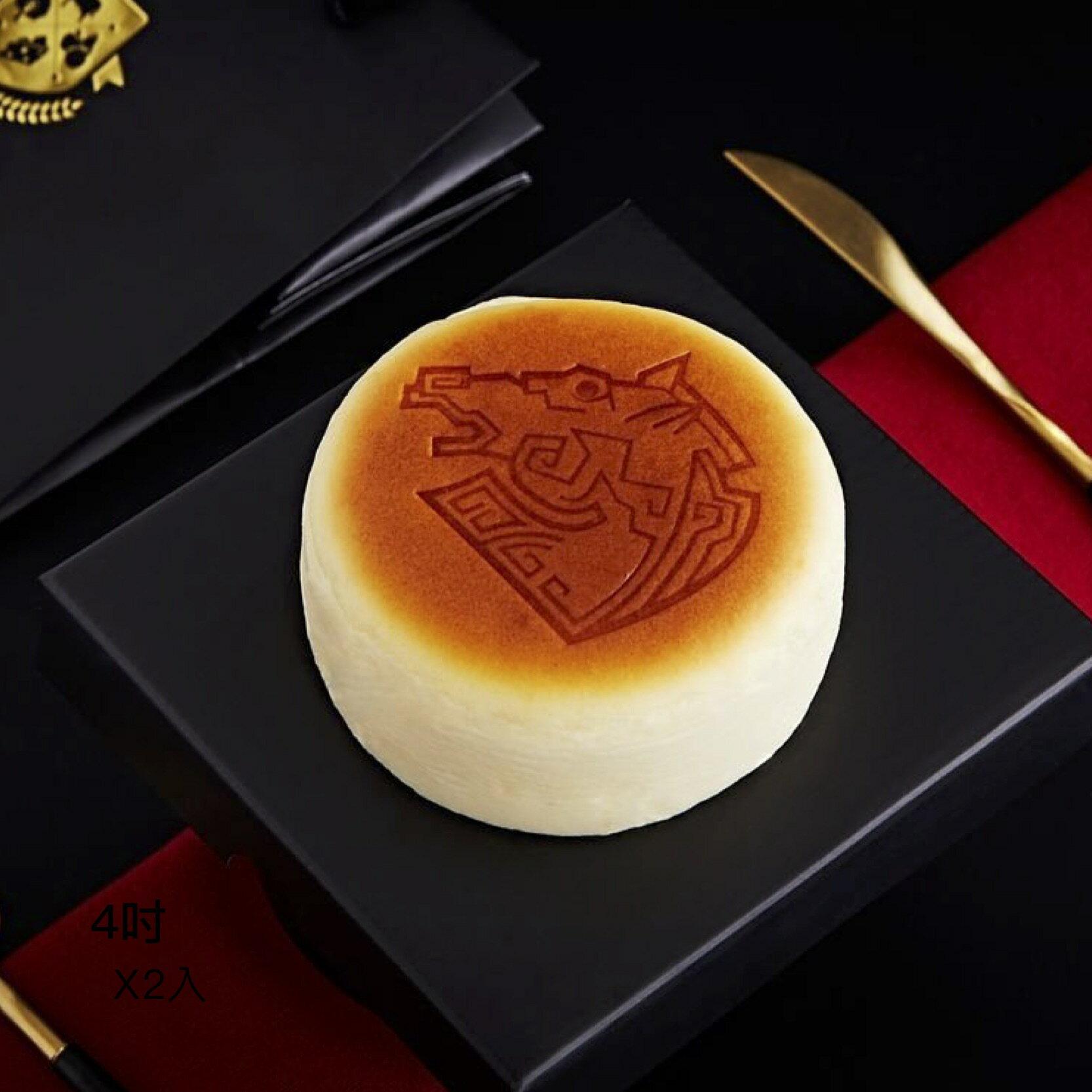 2019母親節蛋糕評比【起司】第三名 🏆 起士公爵 - 純粹原味乳酪蛋糕 (4吋+6吋各1入) -【 A.A.無添加三星認證 】 1