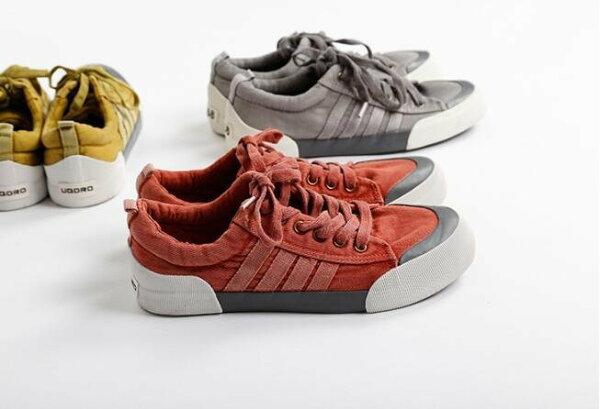 FINDSENSEMD日系流行時尚潮男牛仔布休閒板鞋運動鞋帆布鞋板鞋