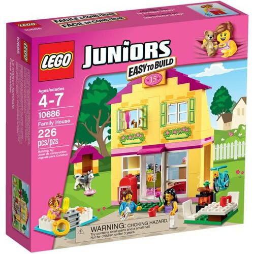 【LEGO 樂高積木】Juniors系列 - 溫馨的家 LT-10686
