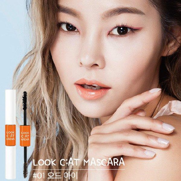 韓國MEMEBOX美睫雙刷頭-睫毛膏+染眉膏(7g+3g)【櫻桃飾品】【21274】