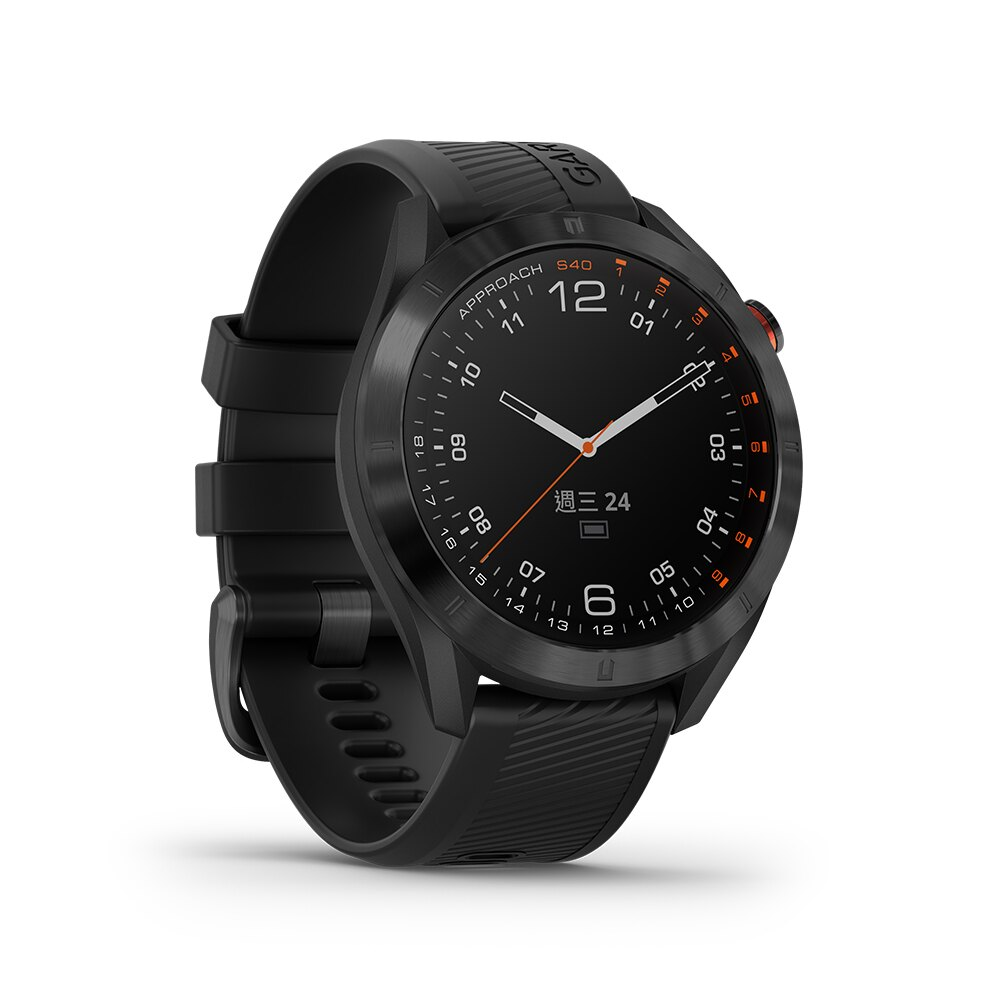 『領卷折』【免運】【H.Y SPORT】GARMIN Approach S40 GPS高爾夫腕錶  { 贈日本SASAKI運動毛巾 }  3