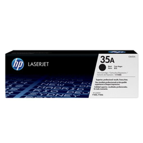 【HP 碳粉匣】HP CB435A 黑色原廠碳粉匣