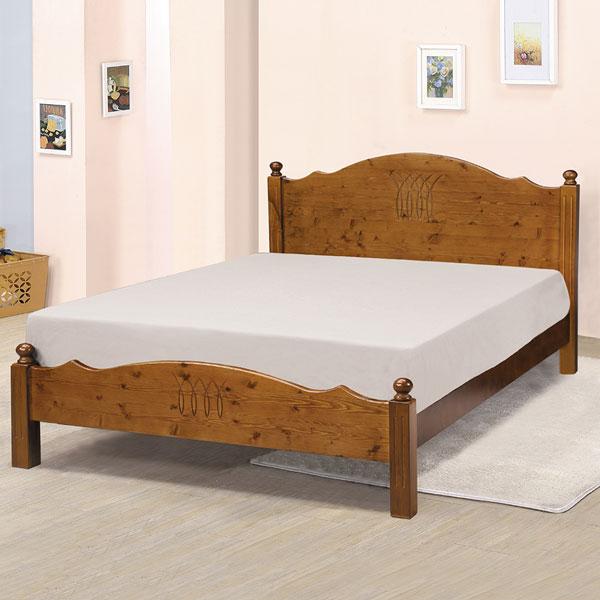 桑妮床架組-雙人5尺(不含床墊)❘床架/床台/床組/雙人床/木床架/床組/房間組/臥室【YoStyle】