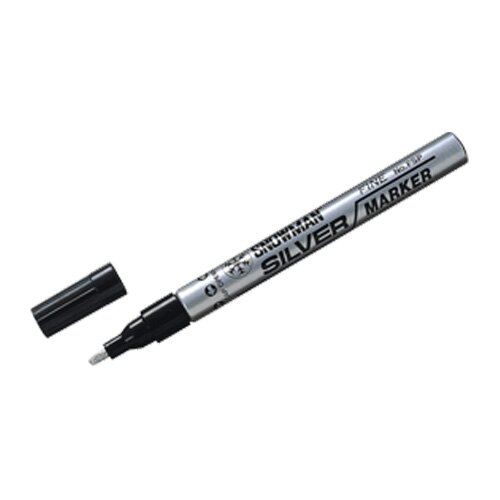 【SNOWMAN 】 FSP-12銀色細油漆筆1.0-1.5mm