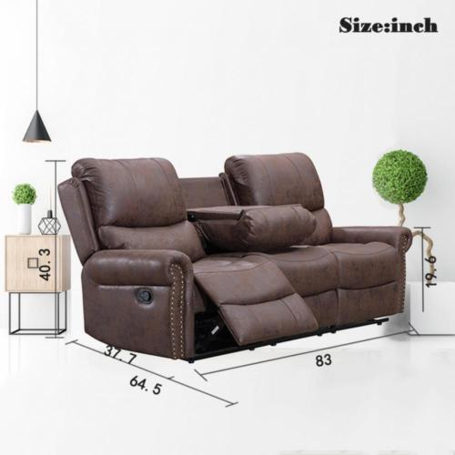 Phenomenal Recliner Sofa Set Reclining Couch Sofa Leather 3 Seater Home Theater Seating Dailytribune Chair Design For Home Dailytribuneorg