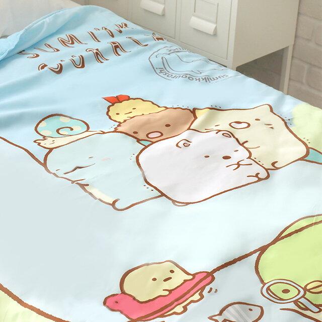 角落生物四季被 雙人5×6尺 - Norns 正版授權 棉被寢具 涼被 恐龍媽媽 1