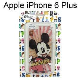 【清倉價】迪士尼透明軟殼 iPhone 6 Plus / 6S Plus [放射] 米奇【Disney正版授權】