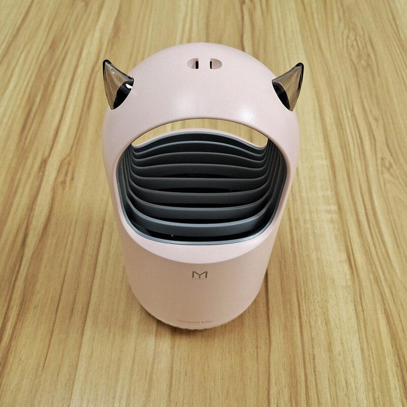 爆款USB家用可愛滅蚊燈 靜音LED光觸