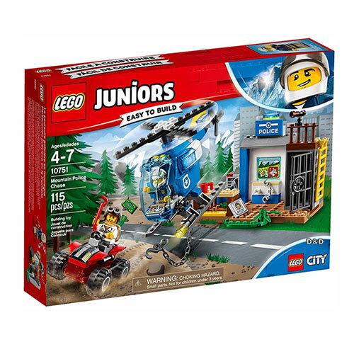 樂高積木 LEGO《 LT10751》2018 Junior 初學級系列 - Mountain Police Chase
