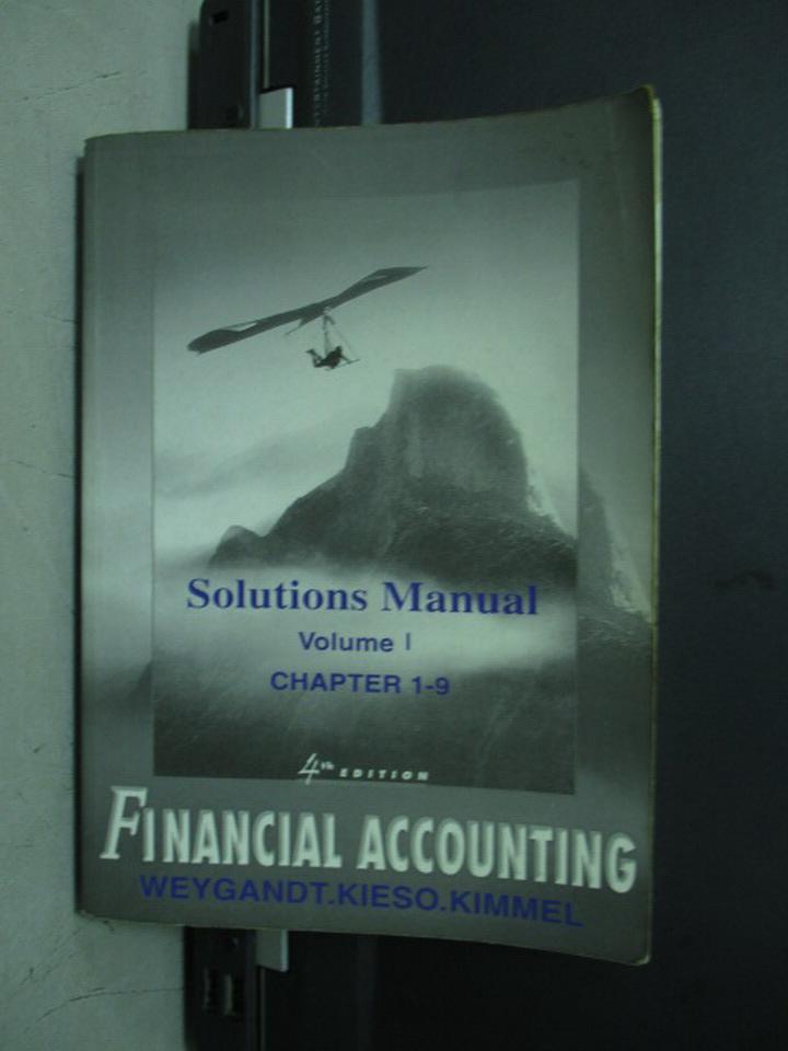 ~書寶 書T3/大學商學_KSB~Financial Accounting_Vol.1