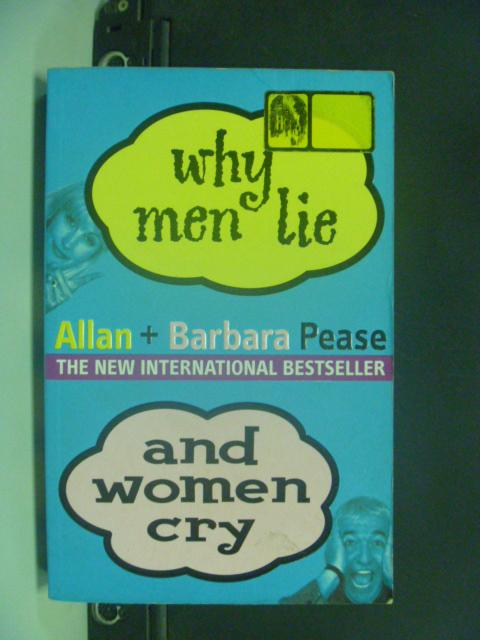 ~書寶 書T5/兩性關係_HNU~Why Men Lie and Women Cry