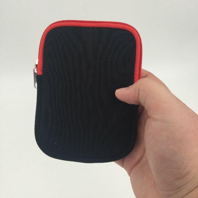 Hippowecan 2.5吋隨身硬碟收納包 行動電源收納包 潛水布收納包 防震軟布包 防水保護套 行動電源收納套