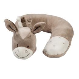 比利時【NATTOU】絨毛動物造型護頸枕S號 - 諾亞 - 限時優惠好康折扣