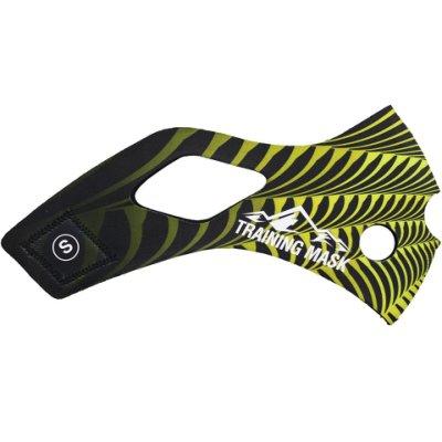 [古川小夫]公司貨-肺活量訓練三鐵馬拉松~單車訓練高海拔面罩TrainingMask面罩皮~蜜蜂面皮-Msize