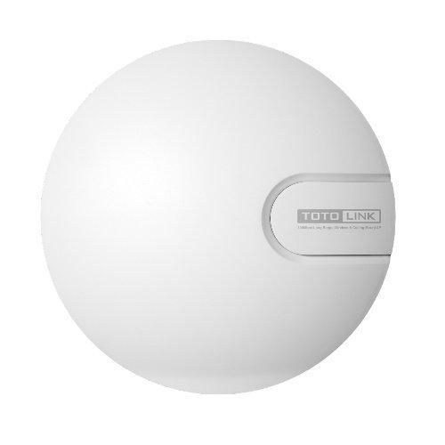【新風尚潮流】 TOTOLINK 吸頂式無線基地台 圓弧吸頂式設計 802.11b/g/n標準 300Mbps N9