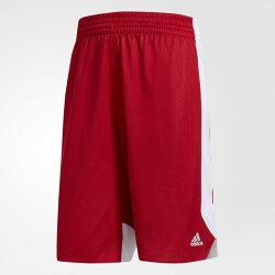 ADIDAS REVERSIBLE CRAZY EXPLOSIVE 男裝 短褲 籃球 雙面 紅白【運動世界】CD8678