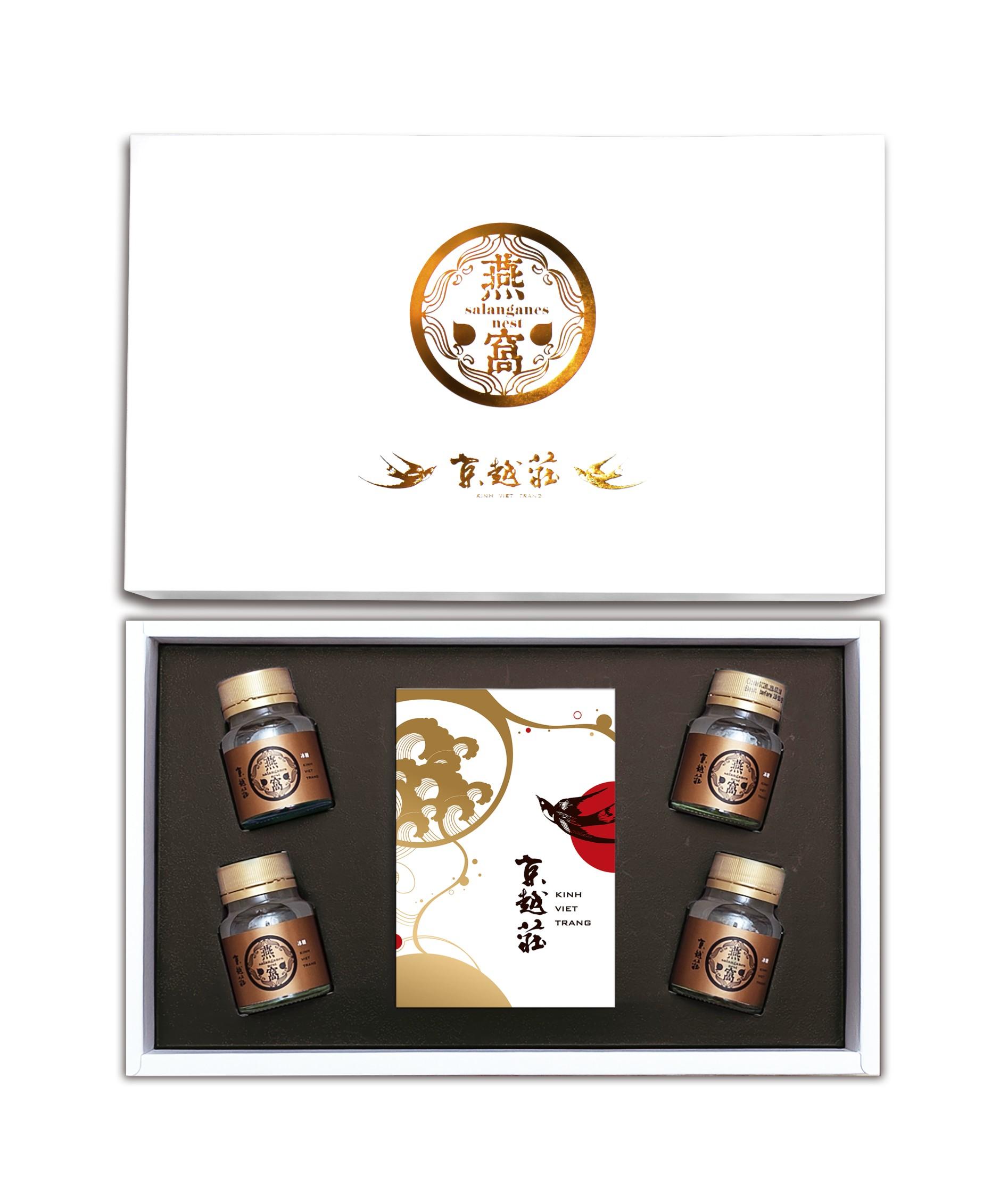 京越莊 (減糖新配方)白金御燕窩元氣禮盒
