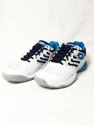 LOTTO 樂得 男 網球鞋 Ultrasphere ALR (白/藍) 橡膠大底 LTT3330【 胖媛的店 】