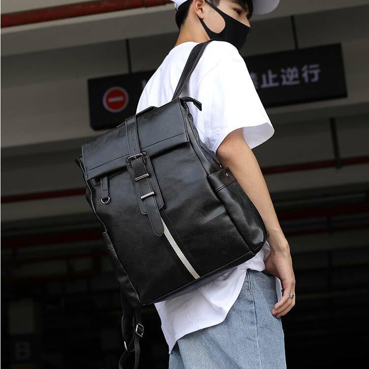 【5折超值價】經典流行復古日韓風格百搭後背包
