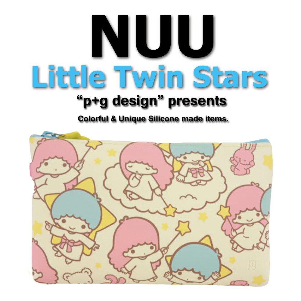 日本空運進口 p+g design NUU X Little Twin Star 2016 繽紛矽膠拉鍊零錢包 1