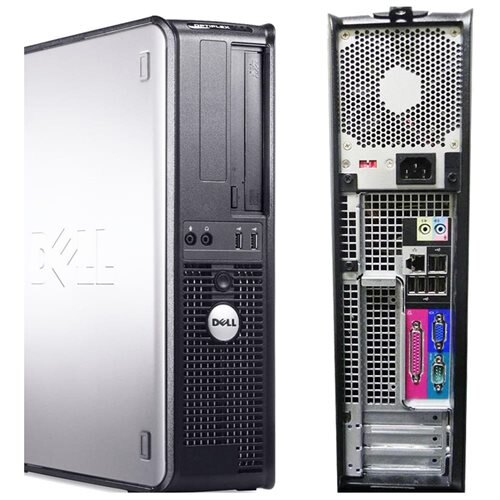 Dell Optiplex GX620 Intel Pentium 4 2800 MHz 40Gig 4096mb DVD ROM Windows 7 Home Premium 32 Bit Desktop Computer 3