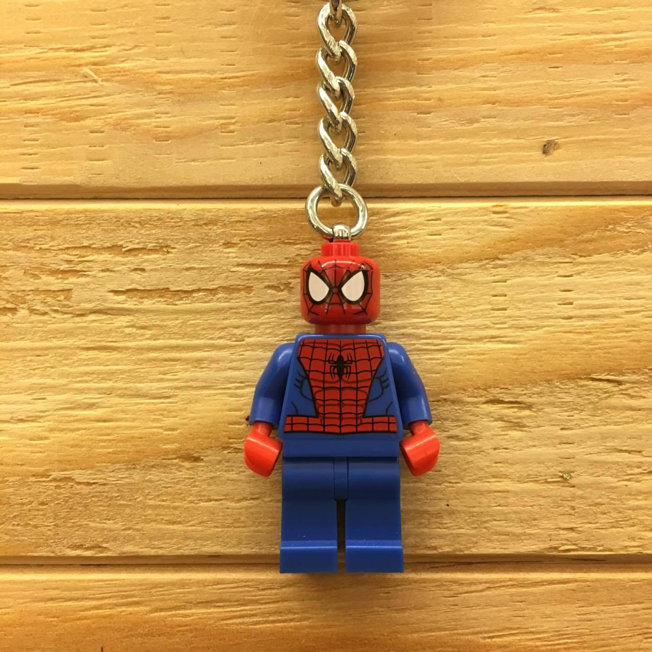 BEETLE LEGO SUPER HEROES SPIDER MAN 蜘蛛人 彼得 班傑明 樂高 積木 鑰匙圈 玩具 1