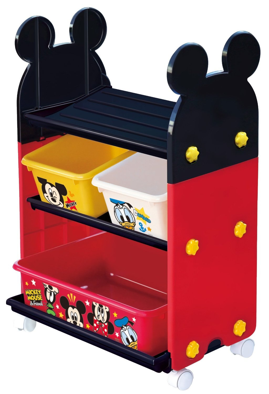 日本 迪士尼 Disney 米奇玩具收納櫃