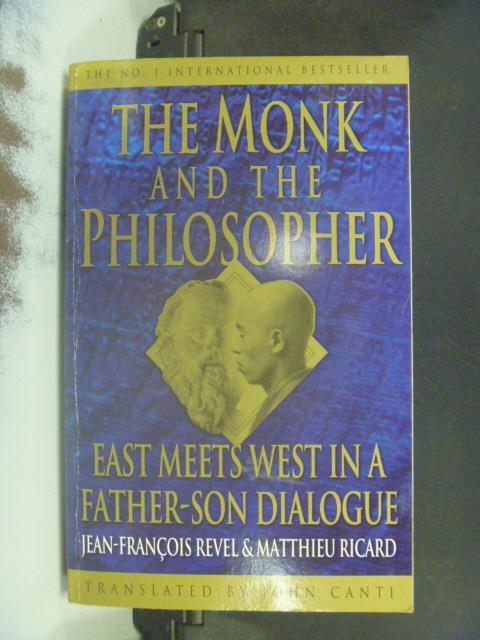 ~書寶 書T9/宗教_KHR~The monk    the philosopher_Je