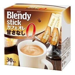 【橘町五丁目】 日本AGF Blendy Stick 即溶咖啡-無糖 30本入 -285g