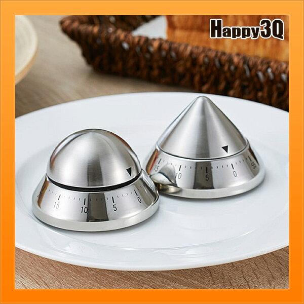 機械鐘不銹鋼定時器創意廚房時間倒數計時器時間提醒-圓尖蘋果蛋【AAA4523】