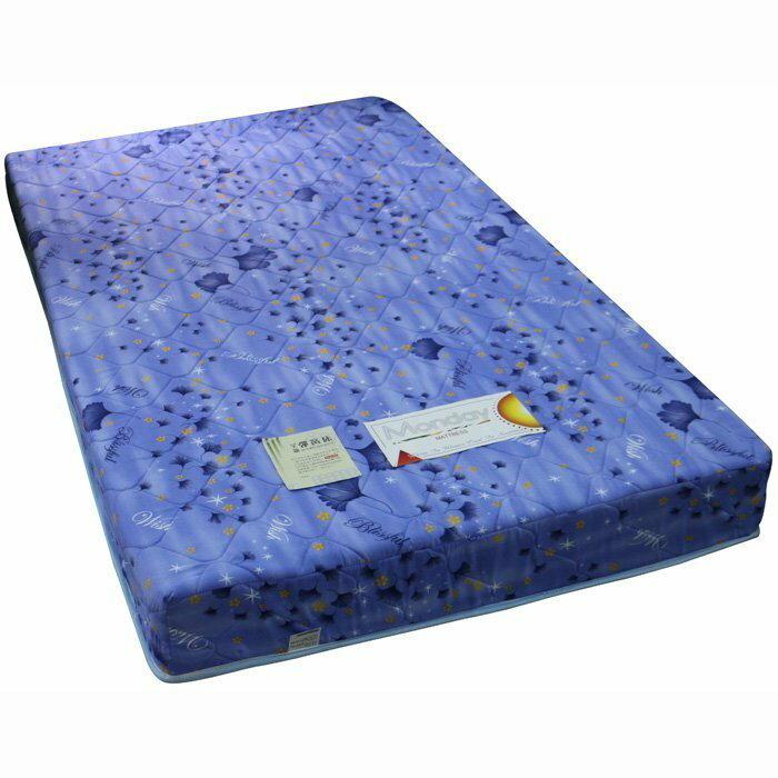【尚品家具】384-03 克拉肯 單人3.5尺冬夏兩用硬式床墊~另有雙人5尺、雙人加大6尺床墊~布花隨機不可挑色