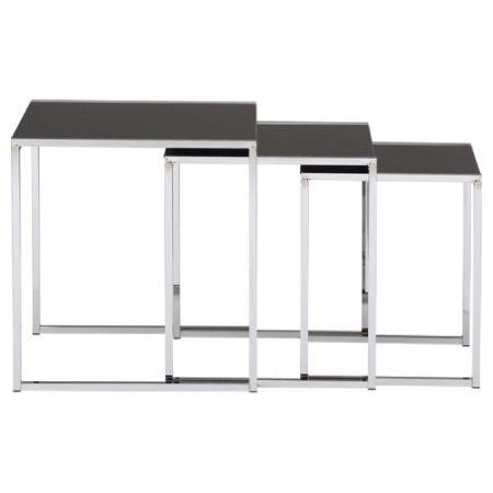 (絕版新品)邊桌3件組 ICE BF-5792 1