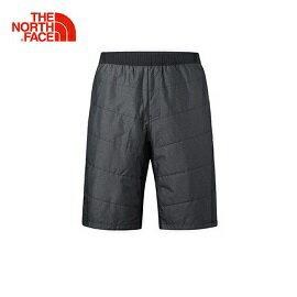 [THENORTHFACE]男輕量保暖運動5分褲黑公司貨NF0A3RGDJK3