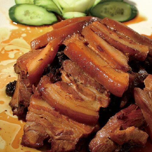 梅干扣肉 1