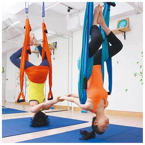 AGPtek Yoga Inversion Swing Sling - Blue 3