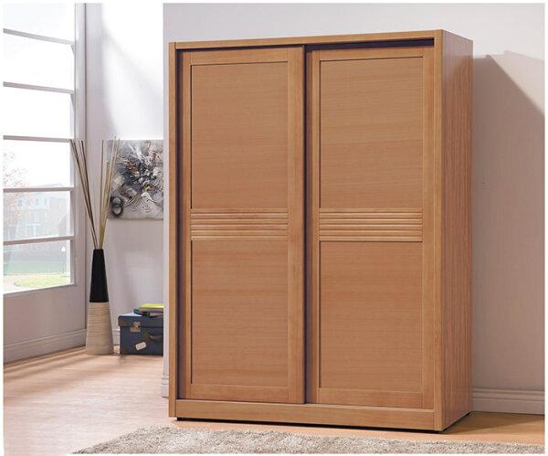 【尚品傢俱】HY-A192-02米堤柚木色5X7尺衣櫥