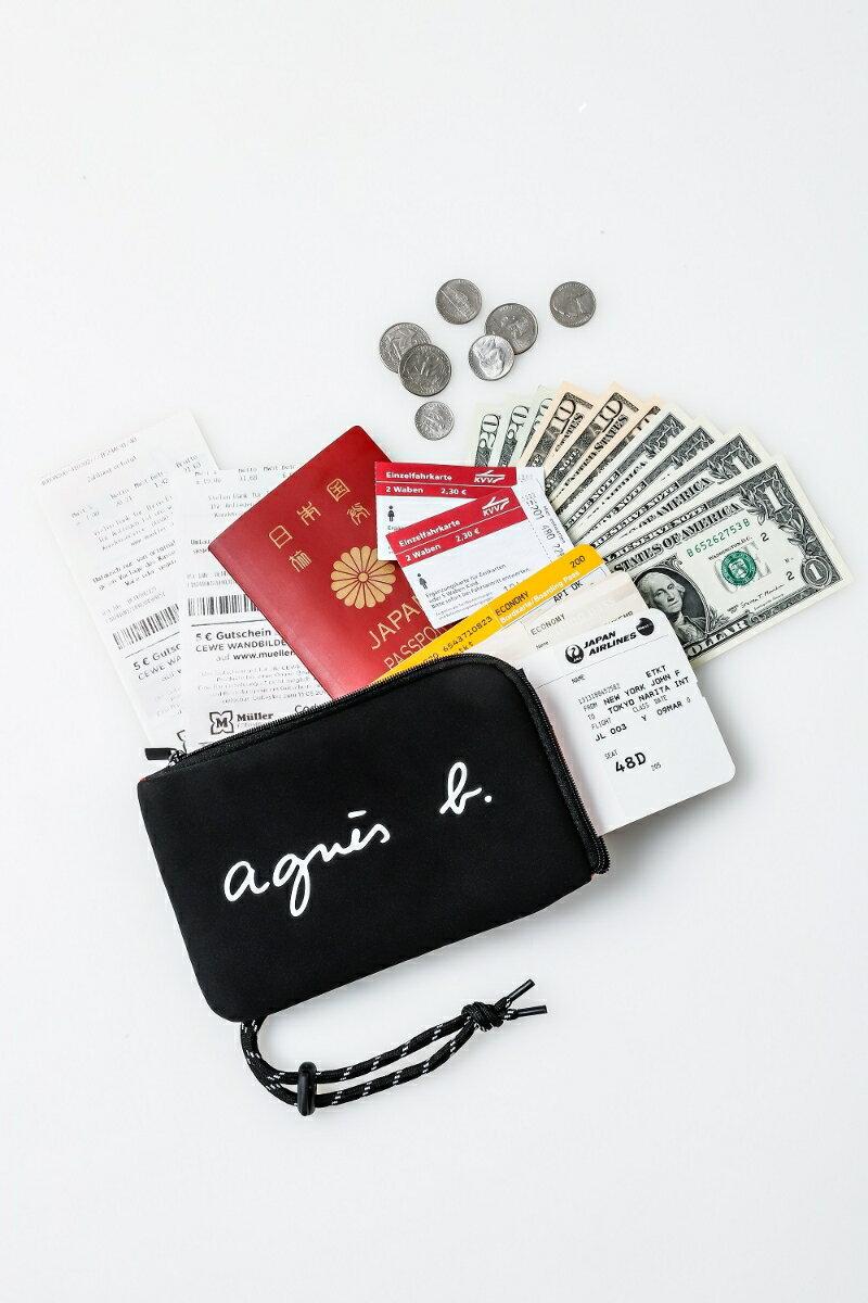/  預購款 日本九月下旬發貨來台  /  日本 agnes b. SPECIAL BOOK  /  出國必備 護照萬用小包 -日本必買 日本樂天代購 (1998)。滿額免運 1