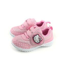 Hello Kitty 凱蒂貓 運動鞋 電燈鞋 粉紅 中童 童鞋 718745 no770