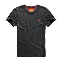 Superdry極度乾燥-男T恤推薦到美國百分百【Superdry】極度乾燥 T恤 上衣 T-shirt 短袖 短T 經典 鐵灰色 logo 素面 XXL號 F235就在美國百分百推薦Superdry極度乾燥-男T恤